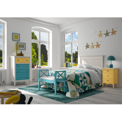 Dormitorio juvenil Colección Nantes de Grupo Seys
