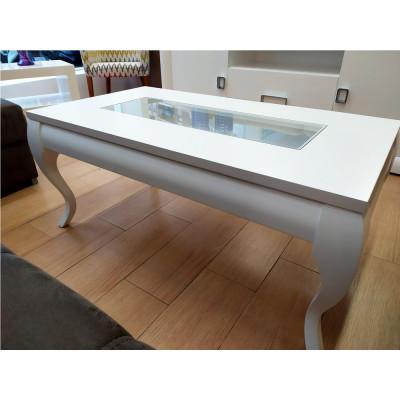 Mesa de centro modelo Isabelina elevable