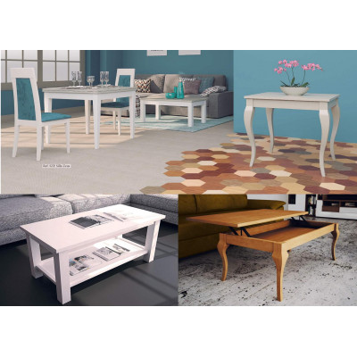Mesas de centro composiciones modulares